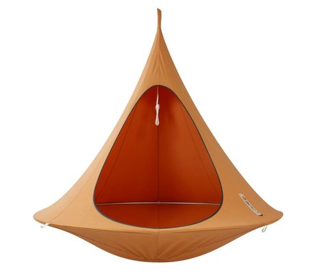 Cacoon Hangstoel Double 2-person tent orange 180x150cm