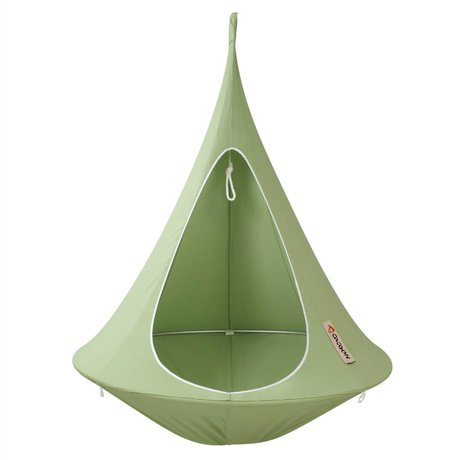 Cacoon Hangstoel Single 1-person tent green 150x150cm