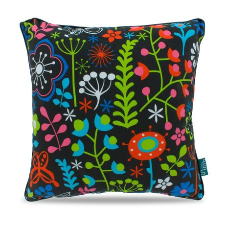 Intimo collection Coussin Vines polyester multicolore 45x45cm