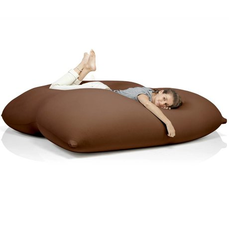 Terapy Beanbag Dino brown cotton 180x160x50cm 1400liter