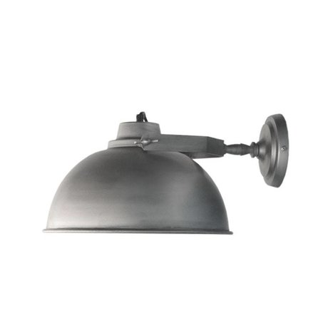 LEF collections Wall lamp Urban antique gray metal Ø30cm