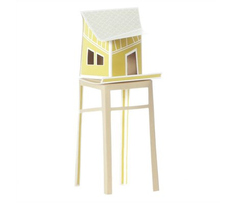 Ontwerpduo Cottage town Olive's House 16x6cm