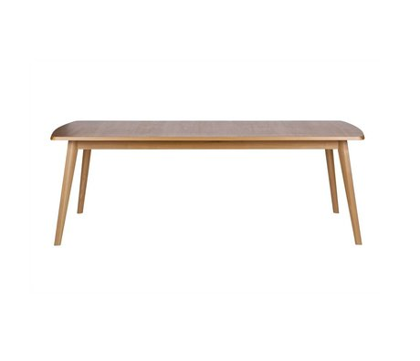 BePureHome Dining Oxford ash brown ash wood 76x223x89cm