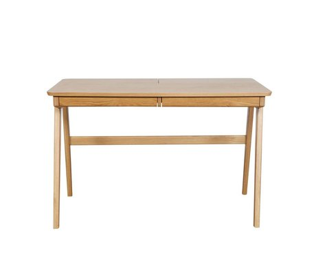 BePureHome Office Oxford ash brown ash wood 76x120x70cm