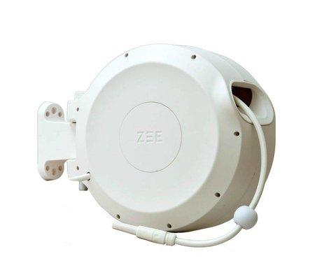 ZEE Mirtoon enrouleur 30m blanc