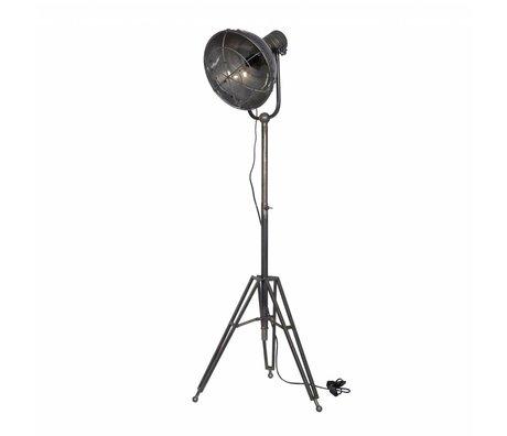 BePureHome Lampadaire projecteurs anthracite métal 167x54x45cm