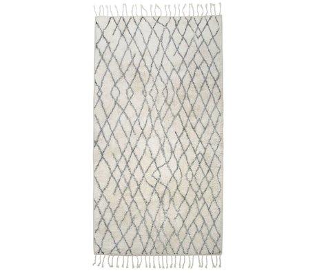 HK-living tapis de tapis grande 90x175cm checkered