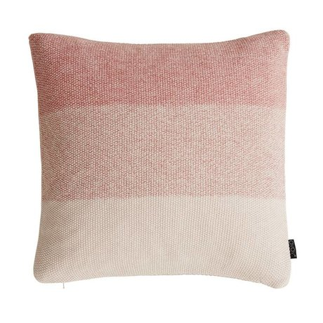 OYOY Cushion PEARL coral white cotton 50x50cm