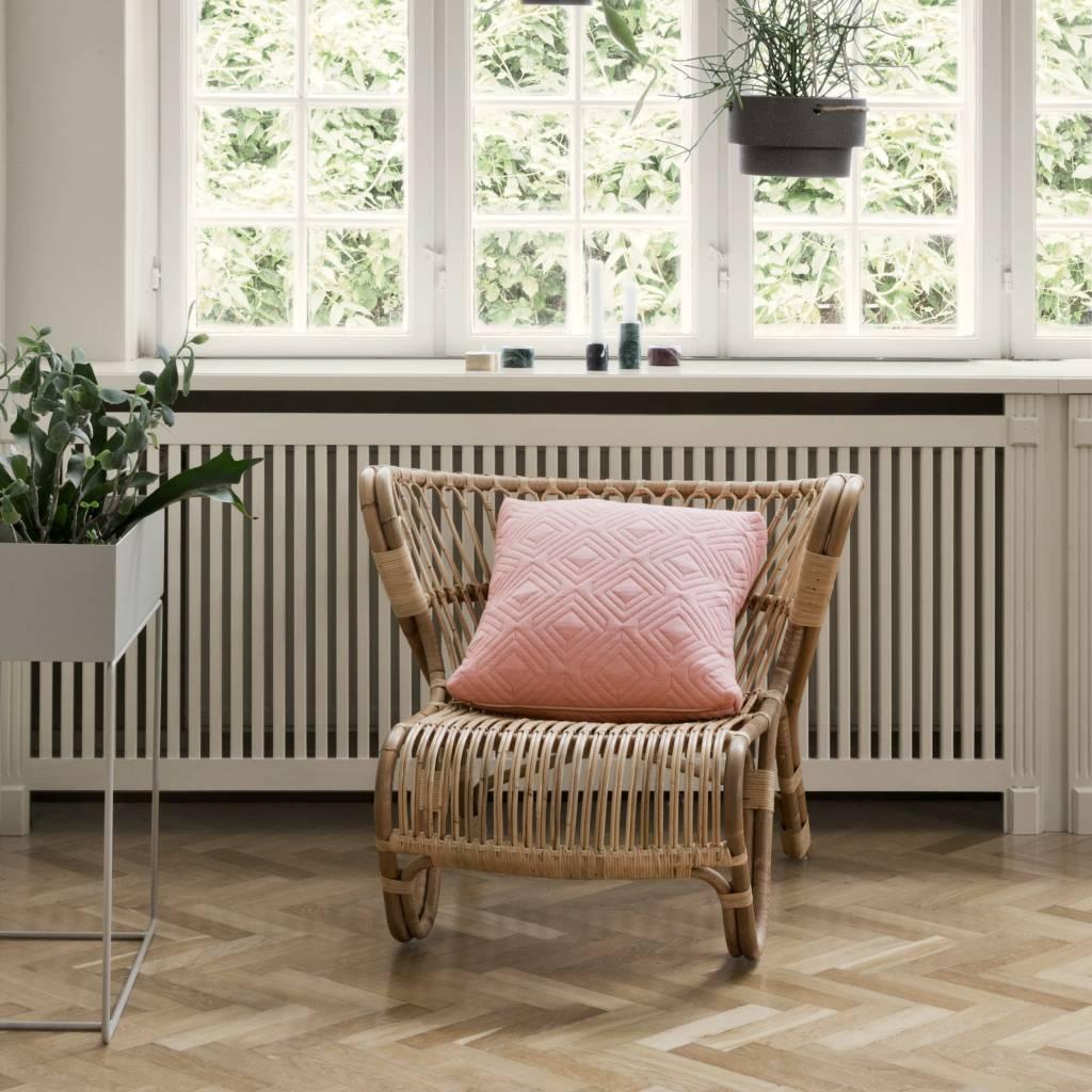 ferm living plant box grijs metaal 60x25x65cm. Black Bedroom Furniture Sets. Home Design Ideas