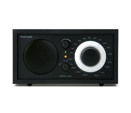 Tivoli Audio Radio One table black 21,3x13,3xh11,4cm