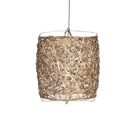 Ay Illuminate Hanglamp Bird's Nest naturel bamboe large ø78x105cm