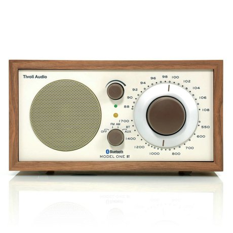 Tivoli Audio Tabelle Radio One Bluetooth Walnut beige 21,3x13,3xh11,4cm