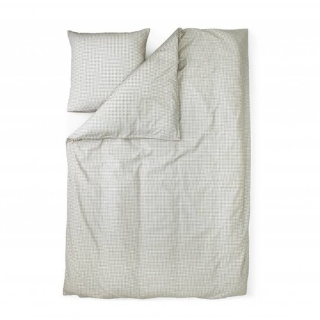 Normann Copenhagen Plus gray cotton duvet cover 140x200cm