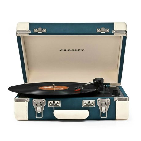 Crosley Radio Crosley Exekutiv Blau Creme 27x36x12cm