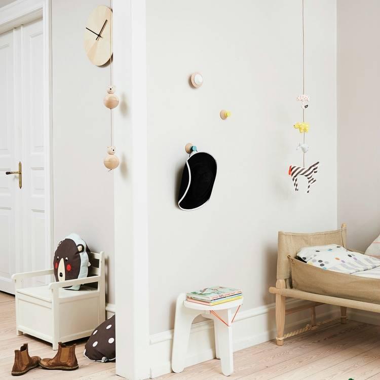 oyoy dierenslinger mobile animal multicolour katoen 80cm. Black Bedroom Furniture Sets. Home Design Ideas