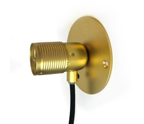 Frama Wandlamp Frama goud brass messing Ø10cm