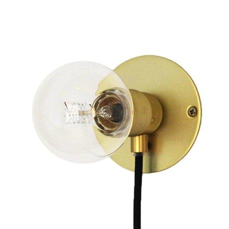 Frama Wall light Frama gold brass brass Ø25cm