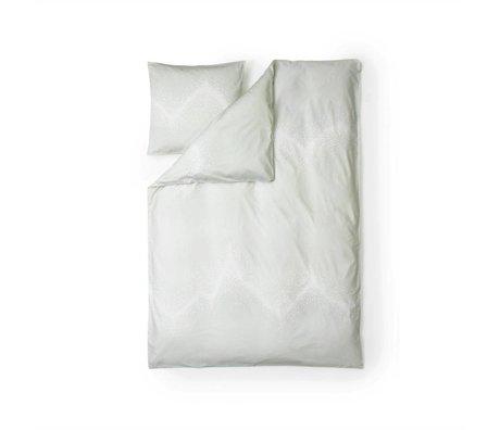 Normann Copenhagen Sprinkle white cotton duvet cover 140x200cm