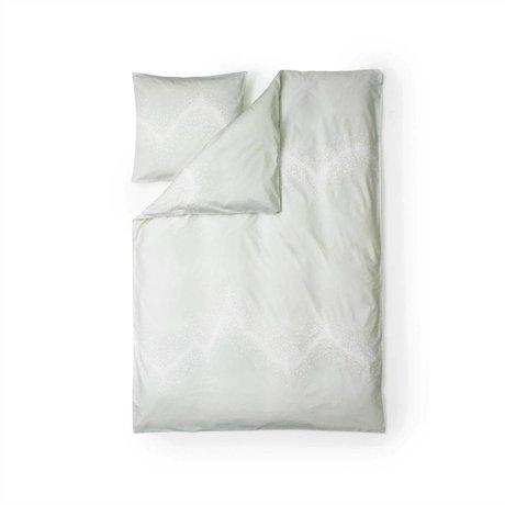 Normann Copenhagen Saupoudrer coton blanc housse de couette 140x200cm