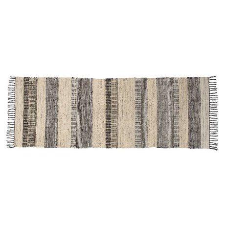 Zuiver Fox wool carpet multicolour 80x200cm