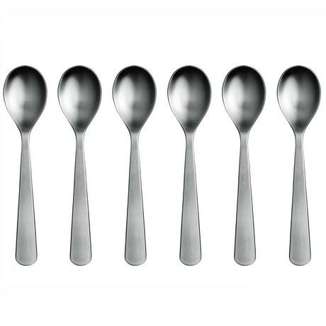 Normann Copenhagen Teaspoon Normann Cutlery stainless steel set of six