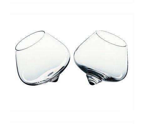 Normann Copenhagen Glas Cognac Glas Set bestehend aus zwei Ø11cm