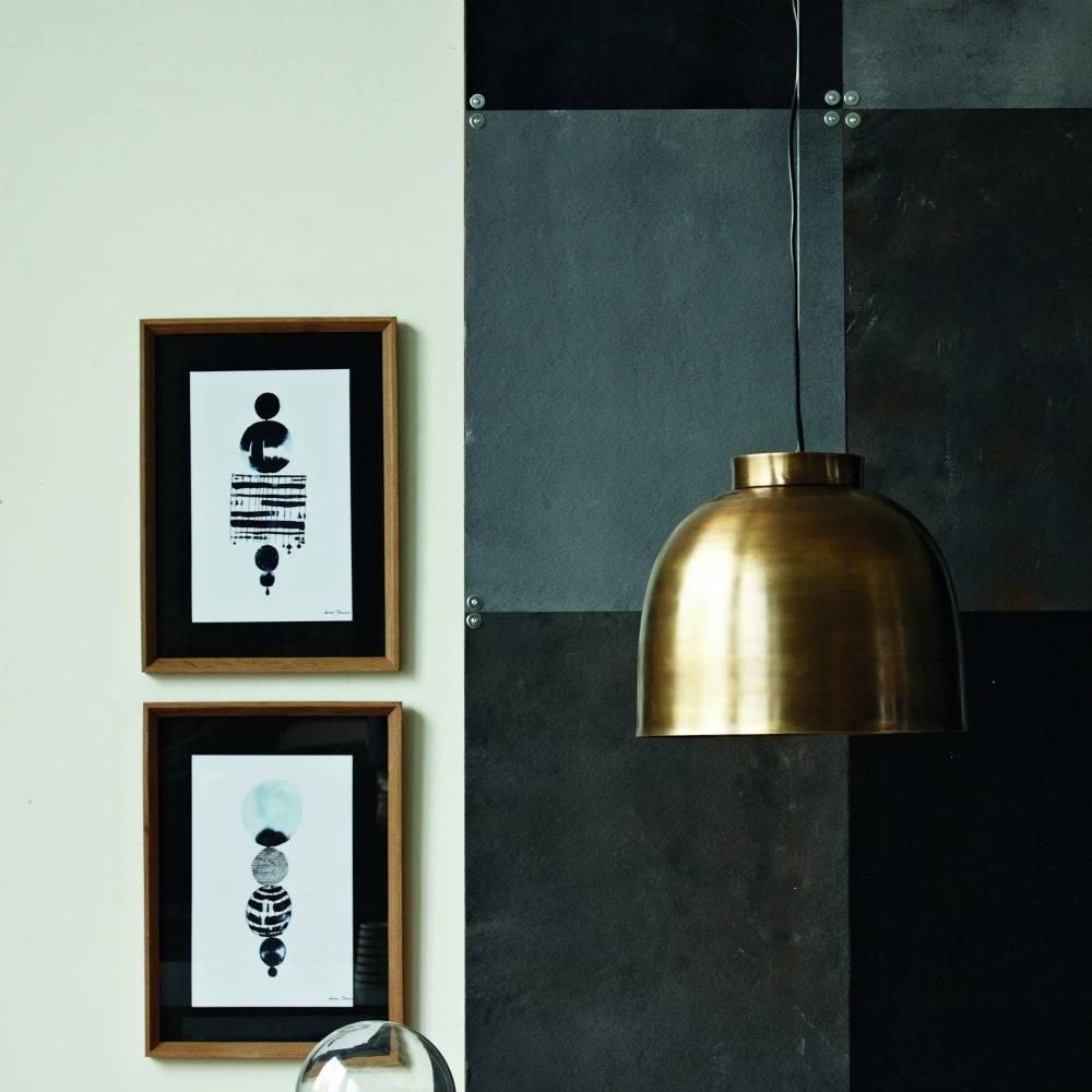 housedoctor sch ssel kupfer metall anh nger 35cm wonen met lef. Black Bedroom Furniture Sets. Home Design Ideas