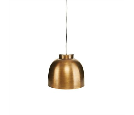 Housedoctor BOWL brass gold metal pendant Ø35cm