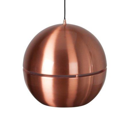 "Zuiver Hanging lamp ""Retro 70"" copper metal Ø40x37cm"