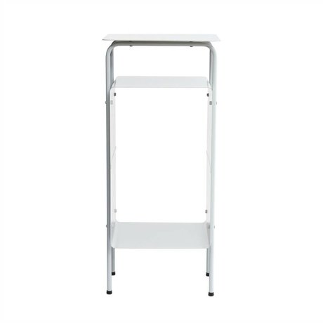 Housedoctor End Table Zimmer grauen Metall 32x30x70cm