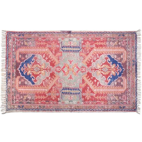 Storebror Printed cotton rug back 180x280cm