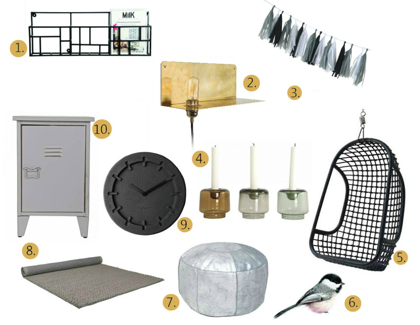 10 musthaves voor jouw interieur for Interieur must haves