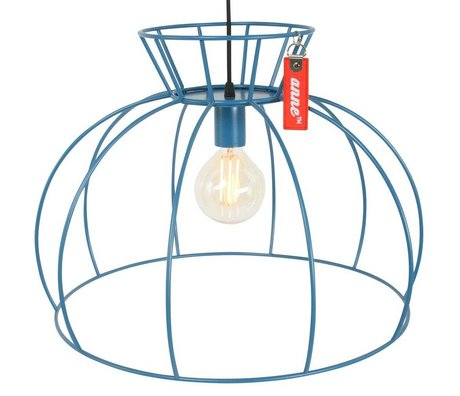 Anne Lighting Suspension Anne Crinoline ø53x38cm métallique bleu