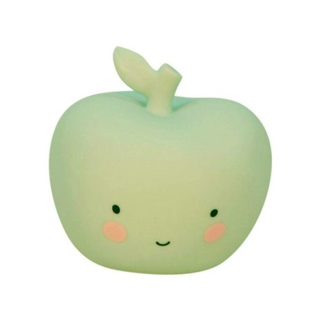 A Little Lovely Company Lamp apple mint 9x9x8,5cm
