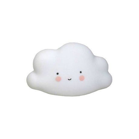 A Little Lovely Company Lampe nuage mini 8,5x16,5x9,5cm blanc