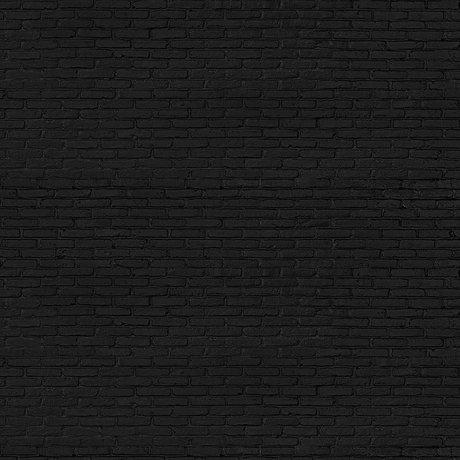 NLXL-Piet Hein Eek Wallpaper Black Brick black paper 900 x 48.7 cm