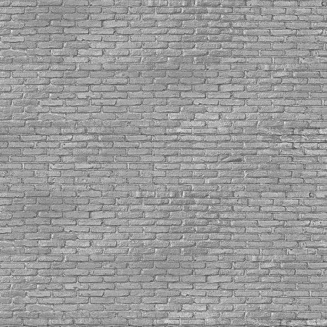 NLXL-Piet Hein Eek Wallpaper Silver Grey Brick gray paper 900 x 48.7 cm