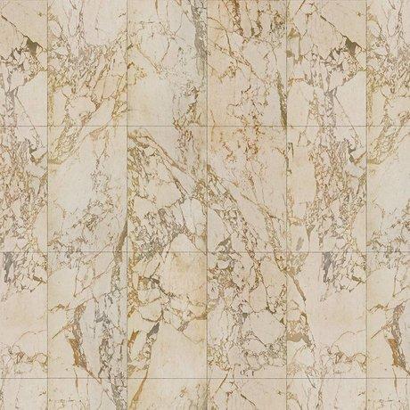 NLXL-Piet Hein Eek Behang Marble Beige papier creme 900x48,7cm