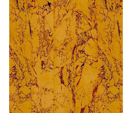 NLXL-Piet Hein Eek Behang Marble Gold papier 80 goud 900x48,7cm