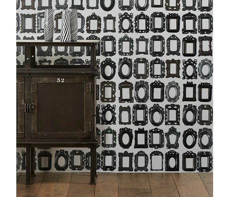NLXL-Daniel Rozensztroch Frames wallpaper black and white 1000x48,7cm