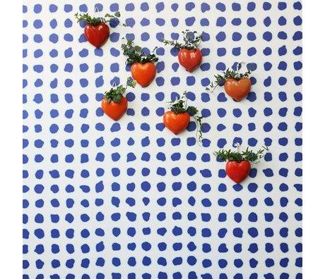 NLXL-Paola Navone Wallpaper Blue Dots blue 900x49cm