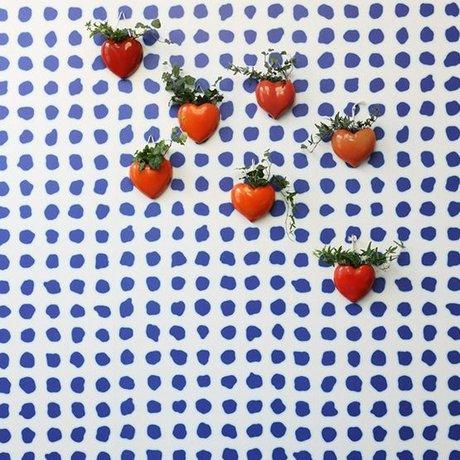 NLXL-Paola Navone Fond d'écran bleu Dots 900x49cm bleu