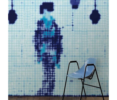 NLXL-Paola Navone Wallpaper Geisha standing blue 900x49 cm