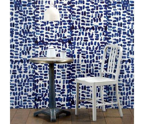 NLXL-Paola Navone Fond d'écran Tye & Dye 900x49cm bleu