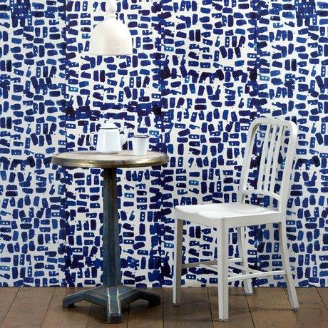 NLXL-Paola Navone Wallpaper Tye & Dye blue 900x49cm