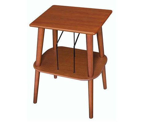 Crosley Radio Crosley side table Manchester pepper brown 33x45,7x63,5cm