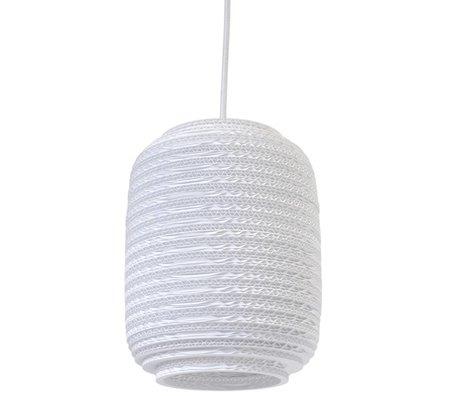 Graypants Ausi 8 pendaison pendentif lampe carton blanc Ø19x24cm