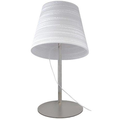 Graypants Tilt Table Lamp white cardboard Ø34x24cm