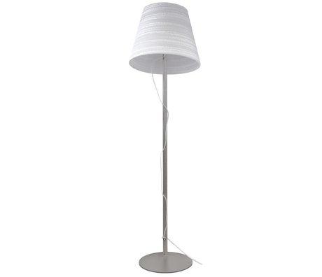 Graypants Lampe de table étage carton blanc Ø46x35cm