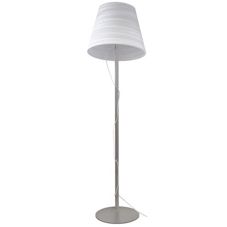 Graypants Table Lamp Floor white cardboard Ø46x35cm